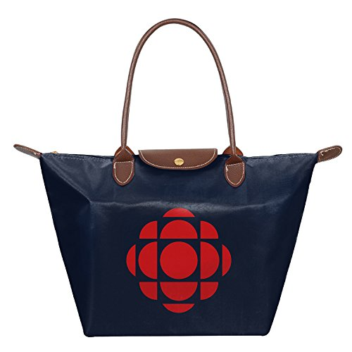 womens-waterproof-nylon-foldable-large-tote-bag-cbc-broadcasting-shopping-shoulder-handbags-navy