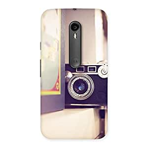 Cute Pastel Camera Back Case Cover for Moto G3