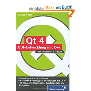 eBook Cover für  Qt 4 GUI Entwicklung mit C Das umfassende Handbuch m CD ROM