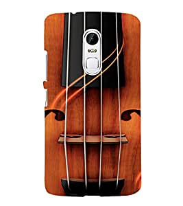 PrintVisa Violin Music Design 3D Hard Polycarbonate Designer Back Case Cover for LENOVO Vibe X3