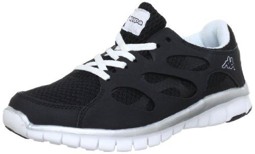 Kappa - Fox, Pantofole unisex, Multicolore (Mehrfarbig (1110 BLACK/WHITE 1110 BLACK/WHITE)), 36