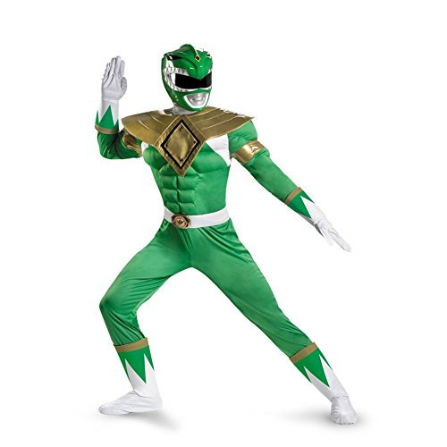 Green Ranger Costume - Classic Muscle