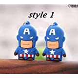 FANCY FLASH DRIVE - 16GB- Captain America