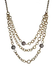 Vasundhara Crystal Chain Necklace For Women