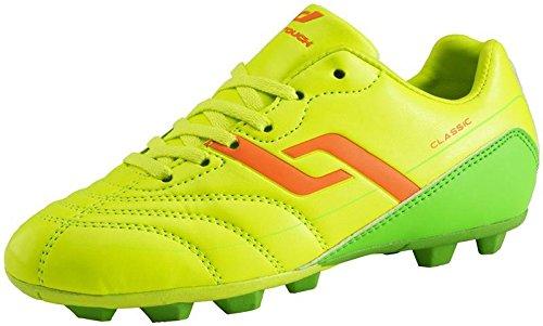 PRO TOUCH Fußballschuhe Classic HG Kinder gelb orange grün