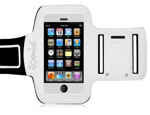 Cod(Tm) Active Sport Armband Case For Apple Iphone 5C 2013 Smartphone (At&T, T-Mobile, Sprint, Verizon)(Black-White)