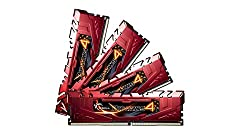 G Skill Ripjaws DDR4 16GB (4GB X 4) Kit - F4-3000C15Q-16GRR Memory Module Kit with Heatspreader for X99 Chipset
