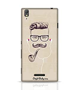 Stylebaby Hipster With Smoking Pipe And Earphones Sony Xperia T3 Phone Case