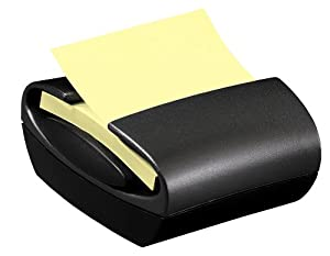 Post-it Pop-up Notes Dispenser for 3 x 3-Inch Notes, Professional Series, Black Dispenser