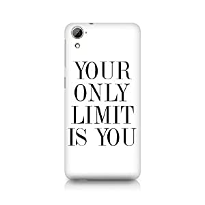 Mobicture Your Limit is YOU Premium Printed Case For HTC Desire 826