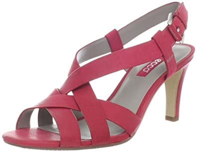 ECCO Women's Oita Sandal,Chilli Red,41 EU/10-10.5 M US