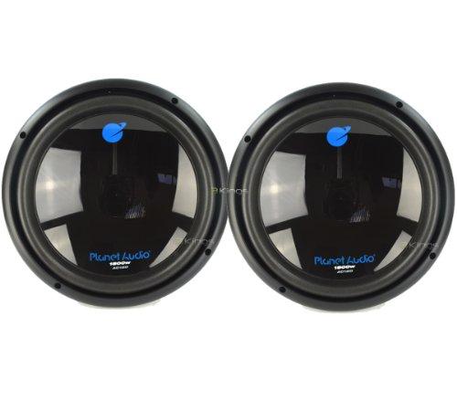 "2) New Planet Audio Ac12D 12"" 3600W Car Audio Subwoofer Sub 3600 Watt"