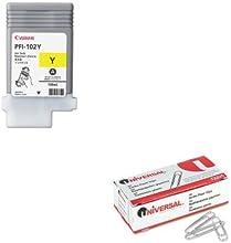 KITCNM0898B001AAUNV72220 - Value Kit - Canon 0898B001PFI-102 Ink CNM0898B001AA and Universal Smooth