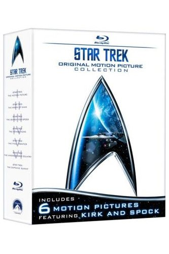 Star Trek: Original Motion Picture Collection 1-6 [Blu-ray] [2009]