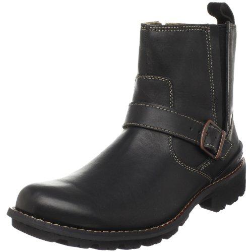 Clarks Men's Chilton Side-Zip Buckle Boot