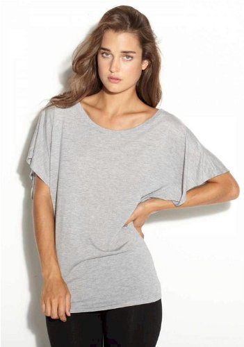 Yoga Activewear Top Sheer Flowy Light Weight Workout Shirt