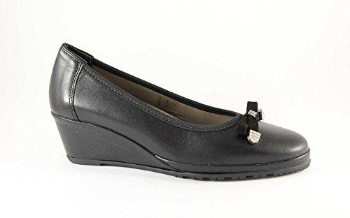 GRUNLAND RINA SC0147 nero scarpe donna ballerina zeppetta 38