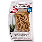Pride Golf Tee Evolution Golf Tees (Pack Of 30), 3-1/4""