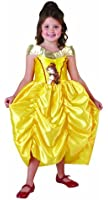 Disney - I-881857 - Déguisement - Costume Classique Belle - Robe en Satin à Bretelles