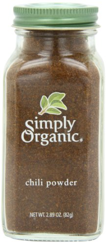 Simply Organic Chili Powder Certified Organic, 2.89-Ounce Container (Chili Pepper Organic compare prices)
