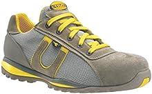 Diadora - Calzado de protección para hombre gris Grey and Yellow