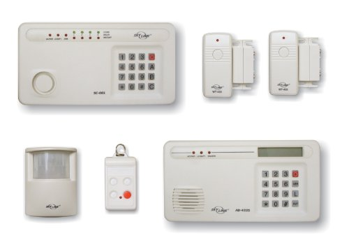 Skylink SC-1000 Complete Wireless Alarm System, Off-White