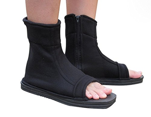 Dongya Naruto Shippuuden Cosplay Black Ninja Shoes (Cloth Ninja Shoes compare prices)