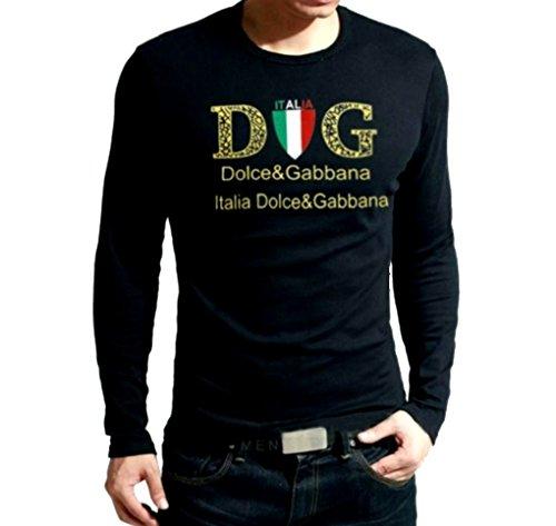 Dolce-Gabbana-mens-black-shirt-large