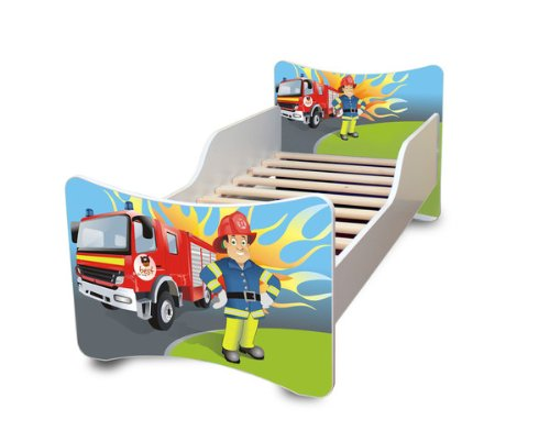 BEST FOR KIDS LIT POUR ENFANT 80x200 - FIRE DEFENSE + GRATUIT
