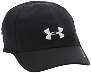 Under Armour Damen Mütze Women's UA Shadow Cap, Schwarz, One size, 1239498-002
