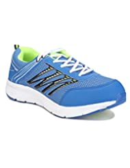 Yepme Men's Blue & Green Synthetic Sports Shoes - B00XLDC092