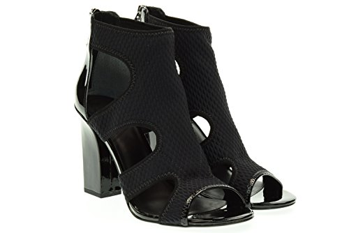 WHAT FOR donna sandali con tacco SS16WF238 35 Nero