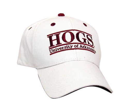 "Arkansas Razorbacks ""HOGS"" The Game Classic Bar Adjustable Cap with Mascot Name at Amazon.com"