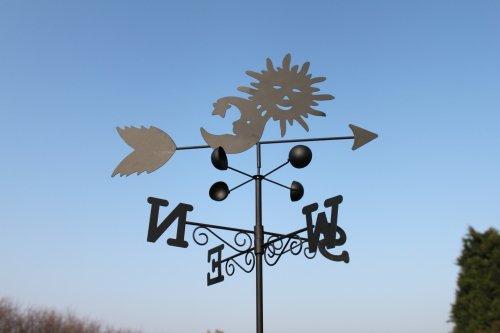 Pacte pour grand thermom tre 145cm de jardin girouette - Grand thermometre de jardin ...