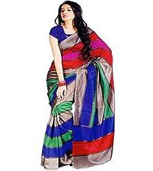 SayShopp Fashion Women's Cotton Silk Saree