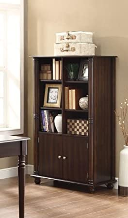 Coaster Home Furnishings 800475 Casual Bookcase, Cappuccino