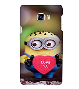 Printvisa Dwarf Monster With A Heart Back Case Cover for Samsung Galaxy C7