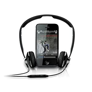 Philips Headset for iPhone with Remote and Mic Ultra Lightweight SHH9506.