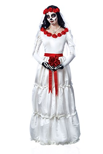 Costume Culture Women's Day Of The Dead Dia De Los Muerto's Bride Costume