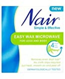 Nair simple and effective easy wax microwave for legs and body 400g
