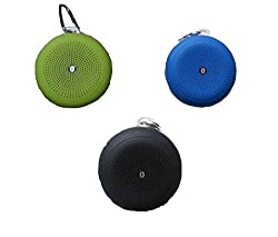 Panasonic T41 Compatible and Certified Mini Hanging / Shower/ Bathroom Speakers with Bluetooth, FM, Memory Card, AUX, Card Reader Function ( Get Mobile Charging Cable worth Rs 239 FREE & 180 days Replacement Warranty )