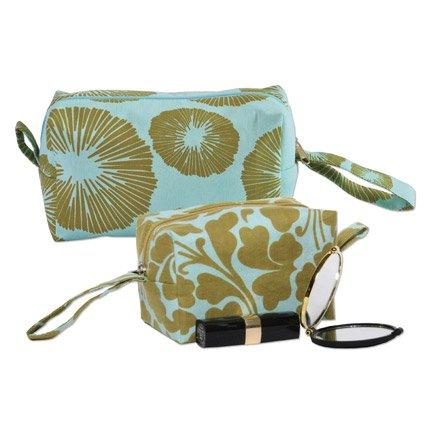 Travel Toiletry Cosmetic Bag Set - Fair Trade