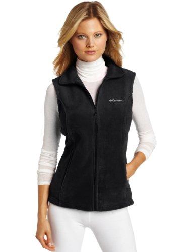 Columbia Women'S Benton Springs Vest, Black, Small front-1032469
