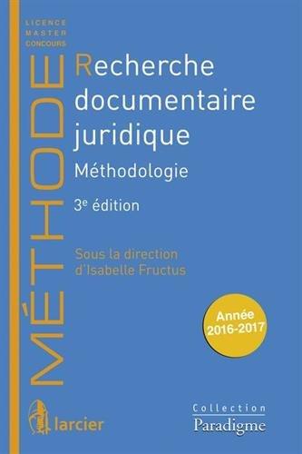 Recherche documentaire juridique : Méthodologie