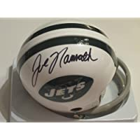 JOE Namath Hall of Fame Signed Autographed NEW York Jets Mini Helmet Authentic Certified Coa