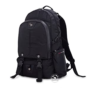 """14"""" 15.6""""Inches Laptop Backpack Office Loop Light Gray Big Daypack Backpack Laptop Netbook Computer Bags Cases (Black, XL)"""
