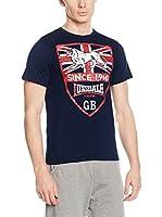 Lonsdale Camiseta Manga Corta Fordham (Azul Oscuro)