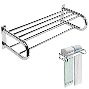 Amazoncom Deluxe Chrome Plated Wall Mounted Stainless
