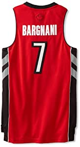 NBA Toronto Raptors Red Swingman Jersey Andrea Bargnani #7 by adidas