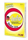 Software - D-Info mit R�ckw�rtssuche Herbst 2016